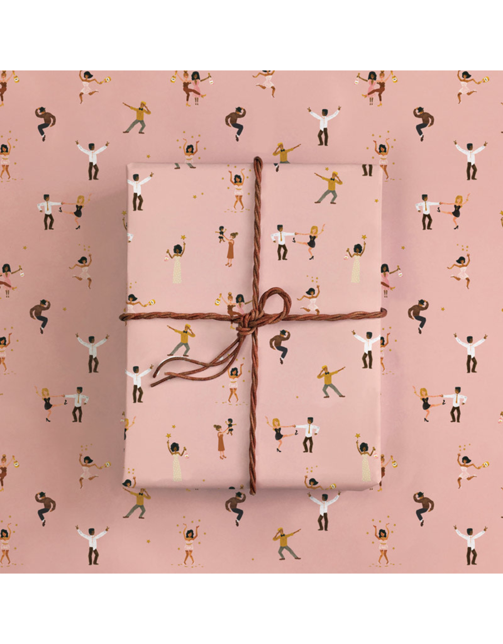 ATWS Gift wrapping - Dancers - 2 sheets - 500 x 700mm - 100gsm paper