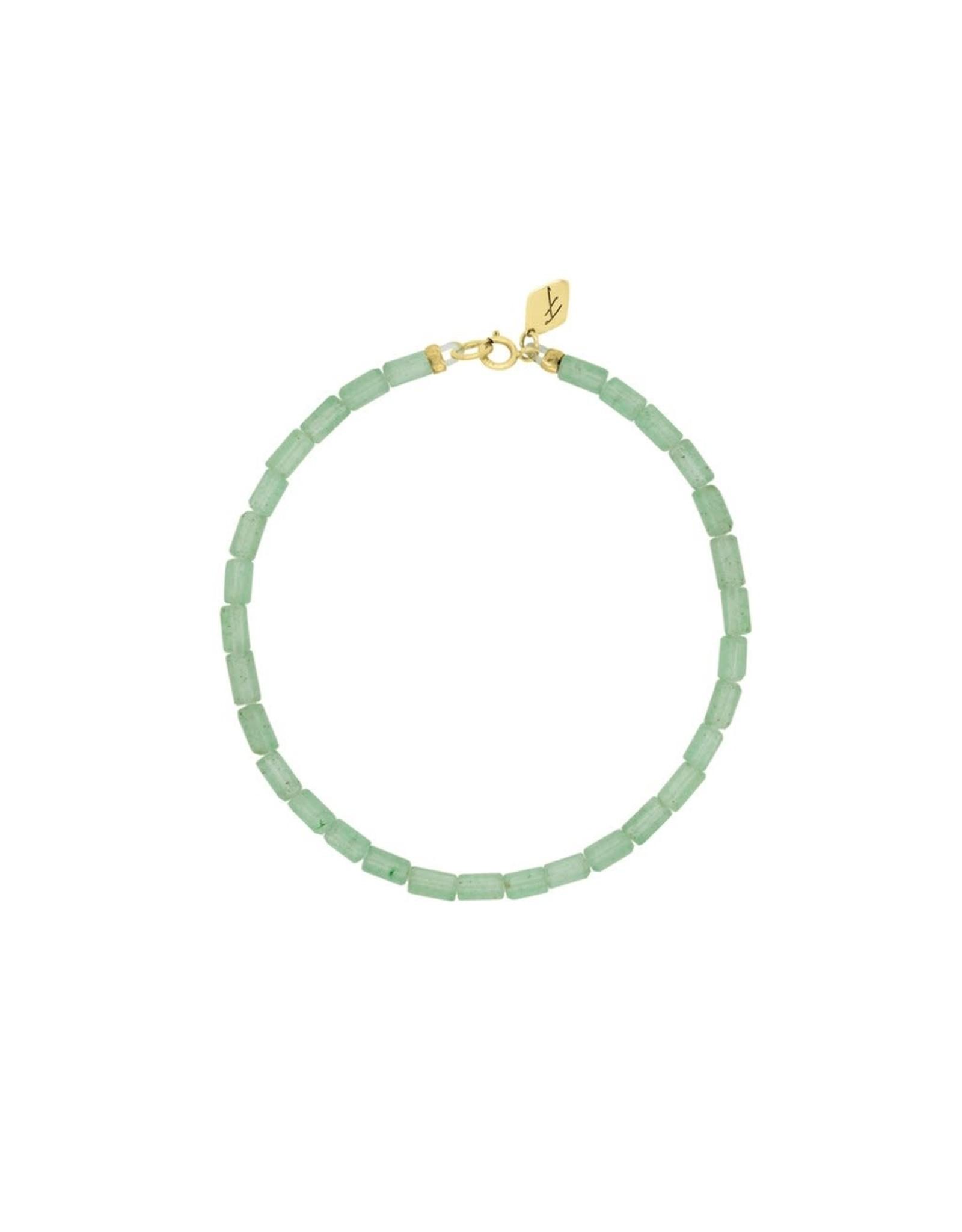 Flawed Armband   jade parels
