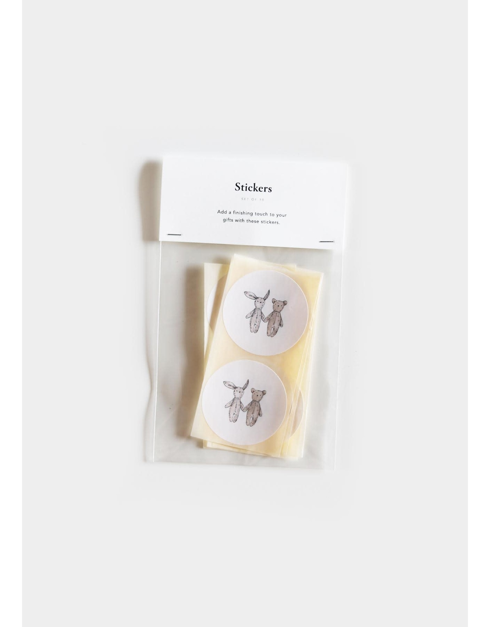 Inkylines Stickers - Knuffels - 10st