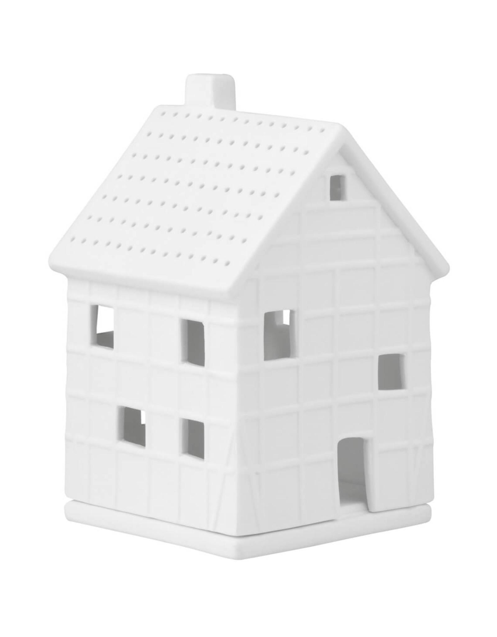 Raeder Lichthuis - S - Houten Huisje - 7 x 7 x 12cm