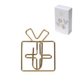 Raeder paperclip geschenk goud