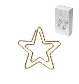 Raeder paperclip ster goud