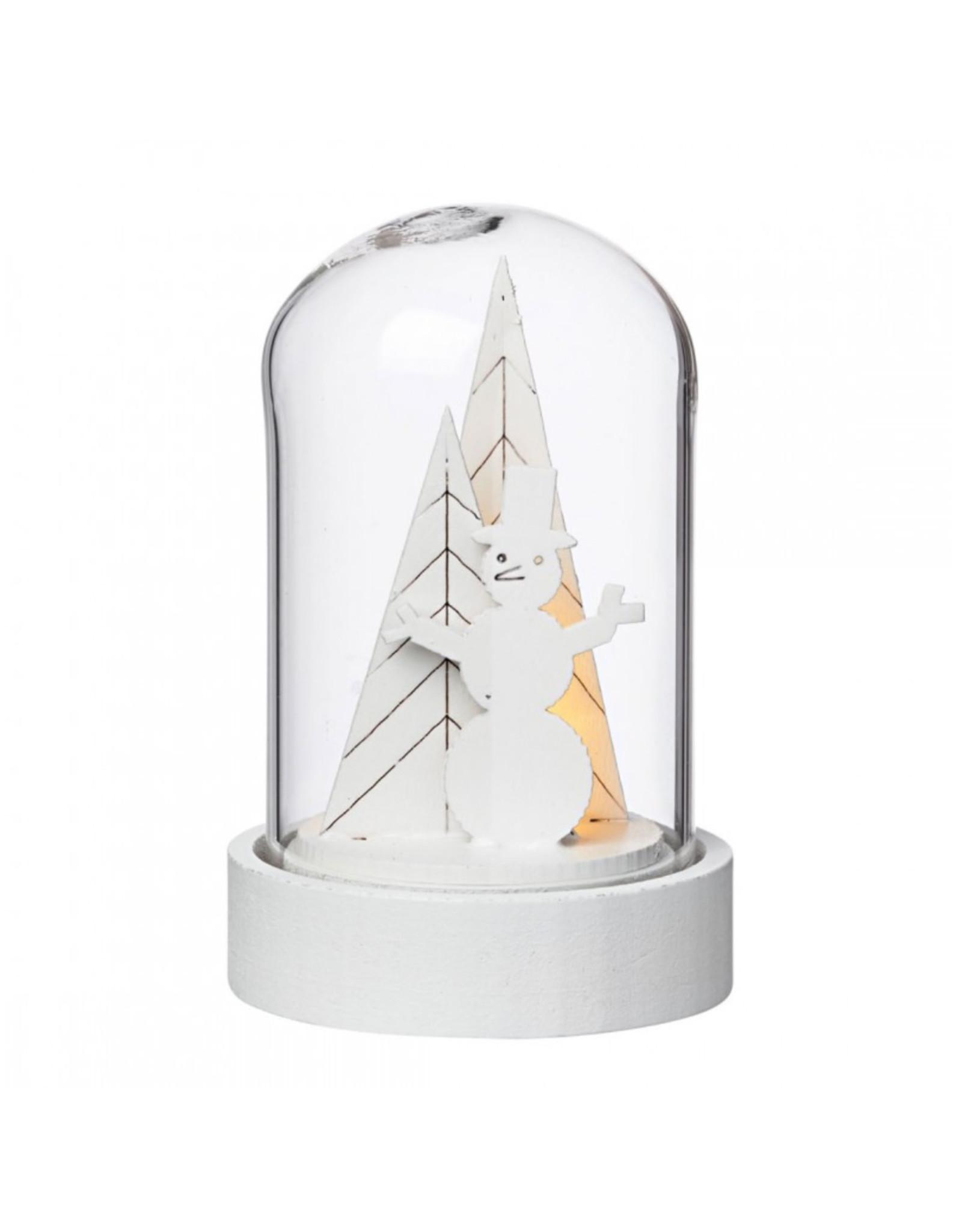Raeder Stolp - mini led - kerstboom met sneeuwman