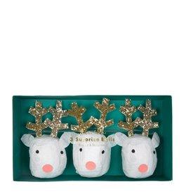 Meri Meri Reindeer surprise balls - 3st
