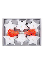 Meri Meri Advent 24 star boxes & twine