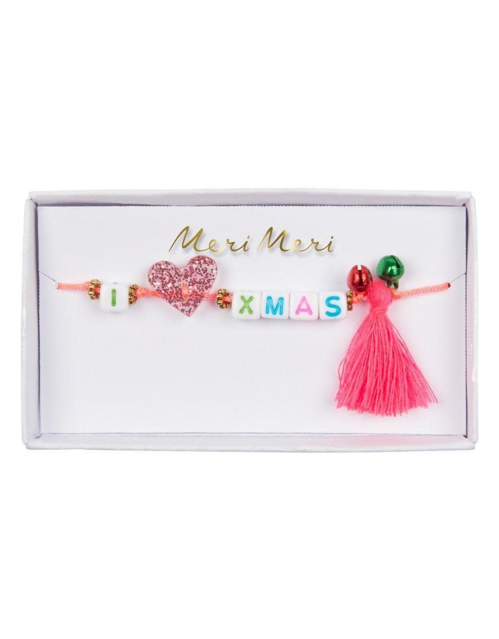 Meri Meri Bracelet | I love Xmas