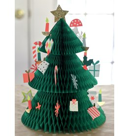 Meri Meri Adventskalender - Honeycomb  Kerstboom