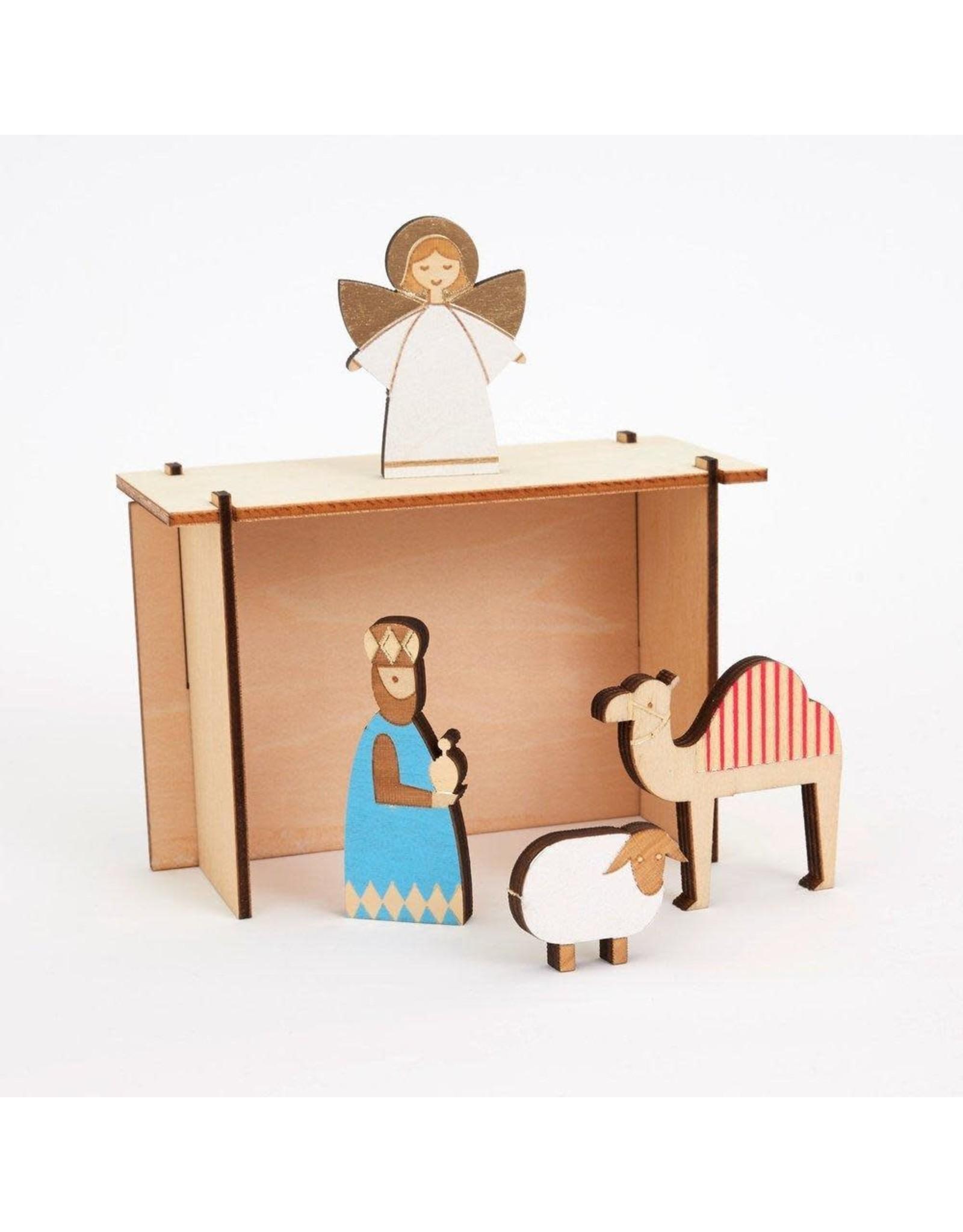 Meri Meri Adventskalender - Kerststal