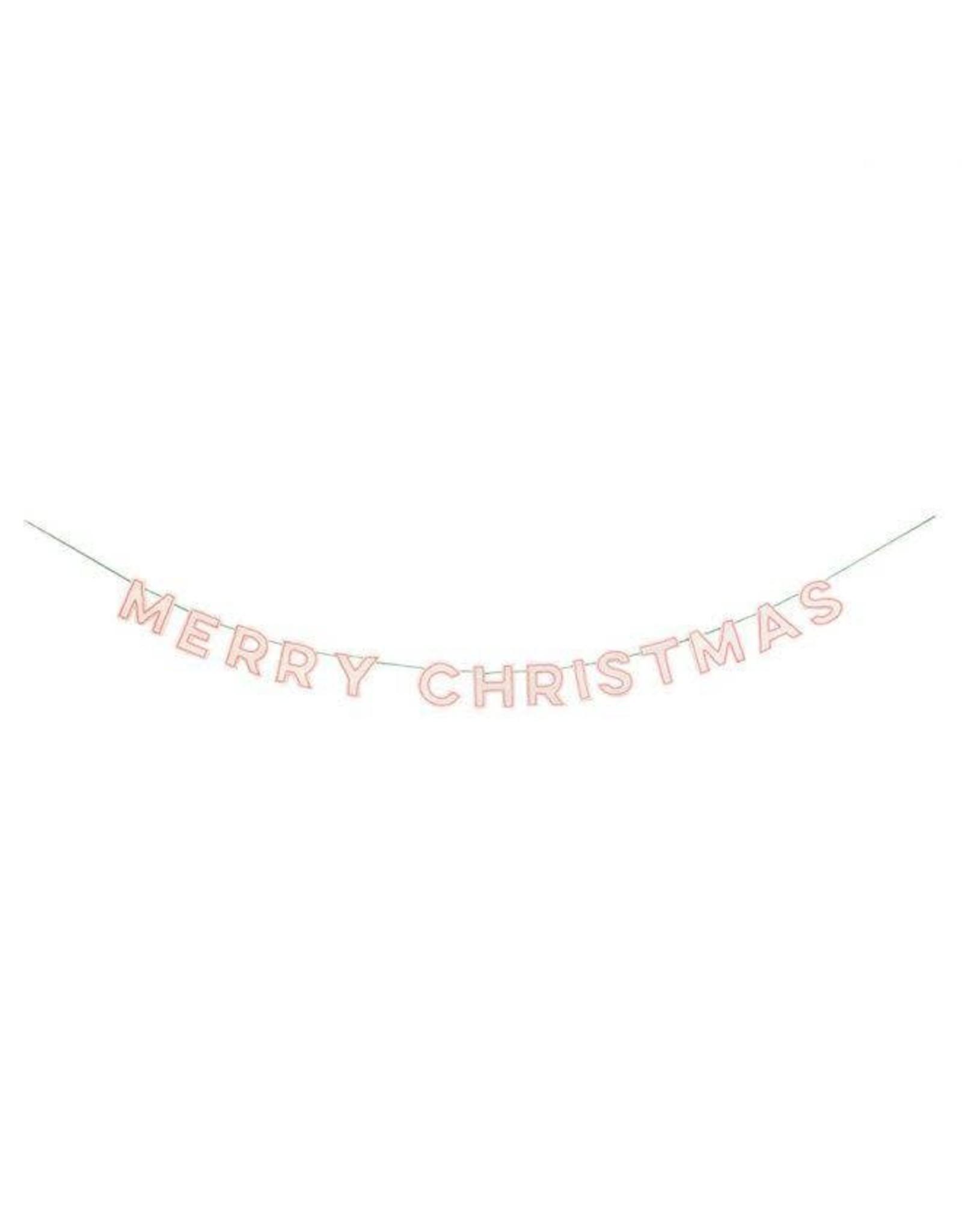 Meri Meri Slinger - Merry Christmas - vilt - 2,3m