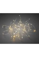 Vanremoortel Micro - LED   189 LED / 3m   Zilver draad   strengverlichting   klassiek warm/ electriciteit