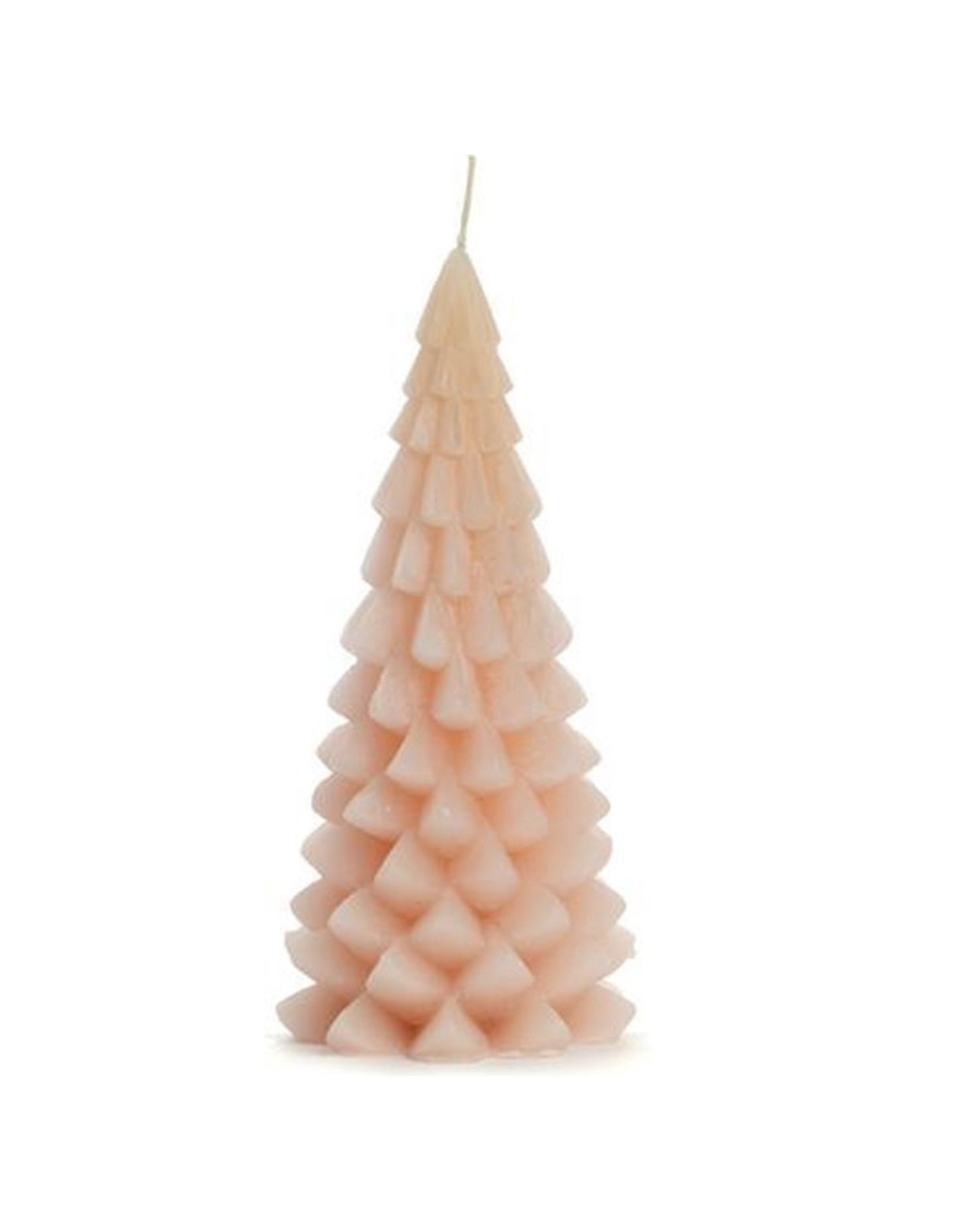 Rustik Lys Christmas tree candle  - Blossom - 10 x 20 cm - Burning time +/- 42h