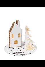 Raeder Wenskaart - kerst- Merry Christmas 3D pop-up