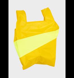 Susan Bijl Shopping bag L, Helio & Fluo Yellow | 37,5 x 69 x 34cm