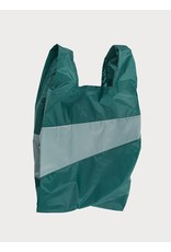 Suzan Bijl Shopping bag L, Pine & Grey   37,5 x 69 x 34cm