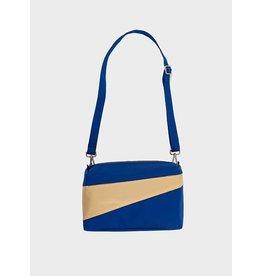 Suzan Bijl Bum Bag M, Electric Blue & Cees | 19 x 28 x 8,5