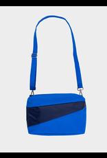 Suzan Bijl Bum Bag M, Blue & Navy   19 x 28 x 8,5