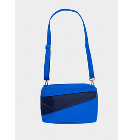 Suzan Bijl Bum Bag M, Blue & Navy | 19 x 28 x 8,5