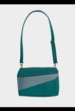 Susan Bijl Bum Bag M, Pine & Grey | 19 x 28 x 8,5