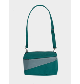 Susan Bijl Bum Bag M, Pine & Grey | 19 x 28 x 8,5