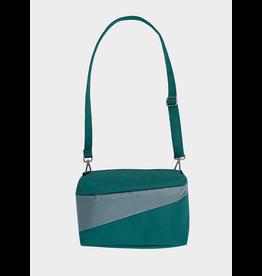 Suzan Bijl Bum Bag M, Pine & Grey | 19 x 28 x 8,5