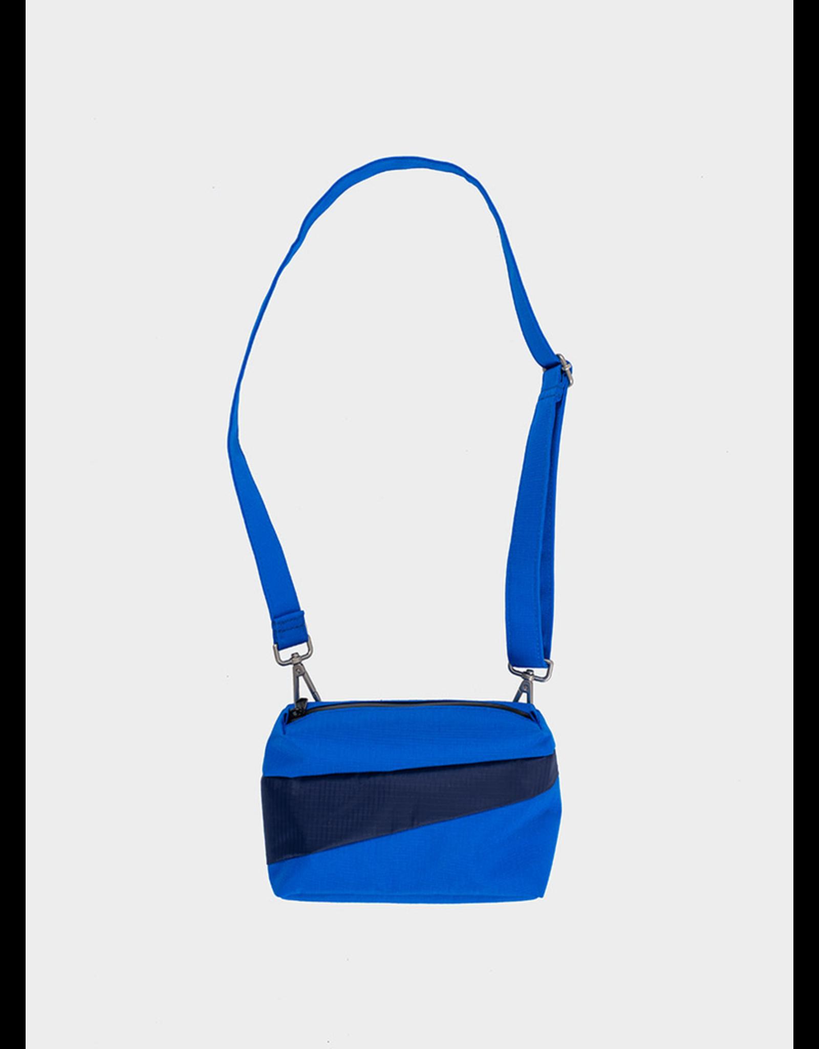 Susan Bijl Bum Bag S, Blue & Navy | 13 x 18,5 x 6,5