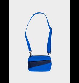 Suzan Bijl Bum Bag S, Blue & Navy | 13 x 18,5 x 6,5
