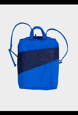 Susan Bijl Backpack, Blue & Navy - One size