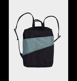 Susan Bijl Backpack, Black & Grey | One size
