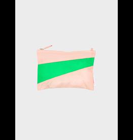 Susan Bijl Pouch (Medium) Powder & Greenscreen