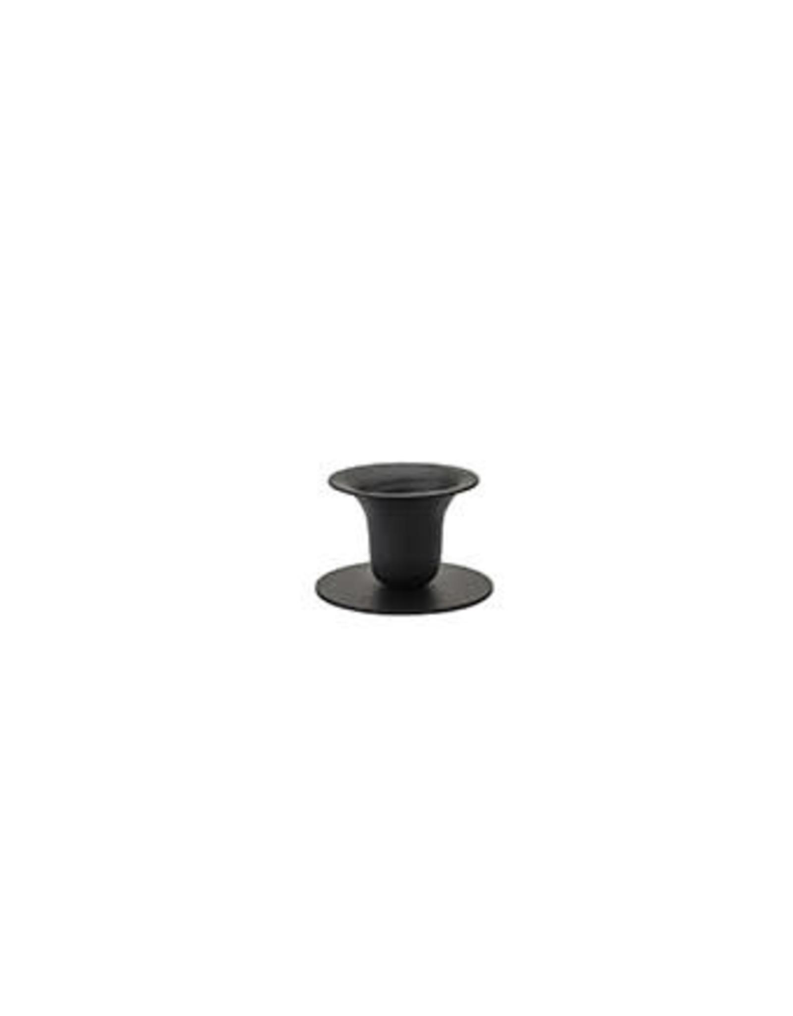 Kunst industrien The Bell Candlestick, Rustic Black  | H 5cm dia 2,3cm