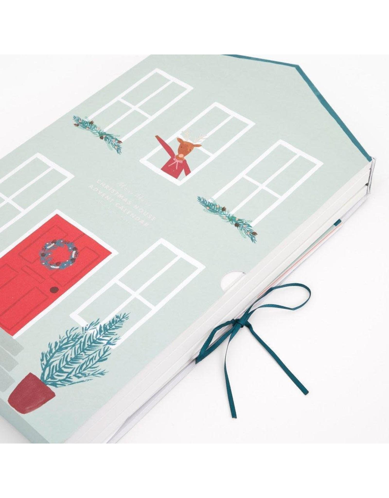 Meri Meri Adventskalender - Papieren huisje