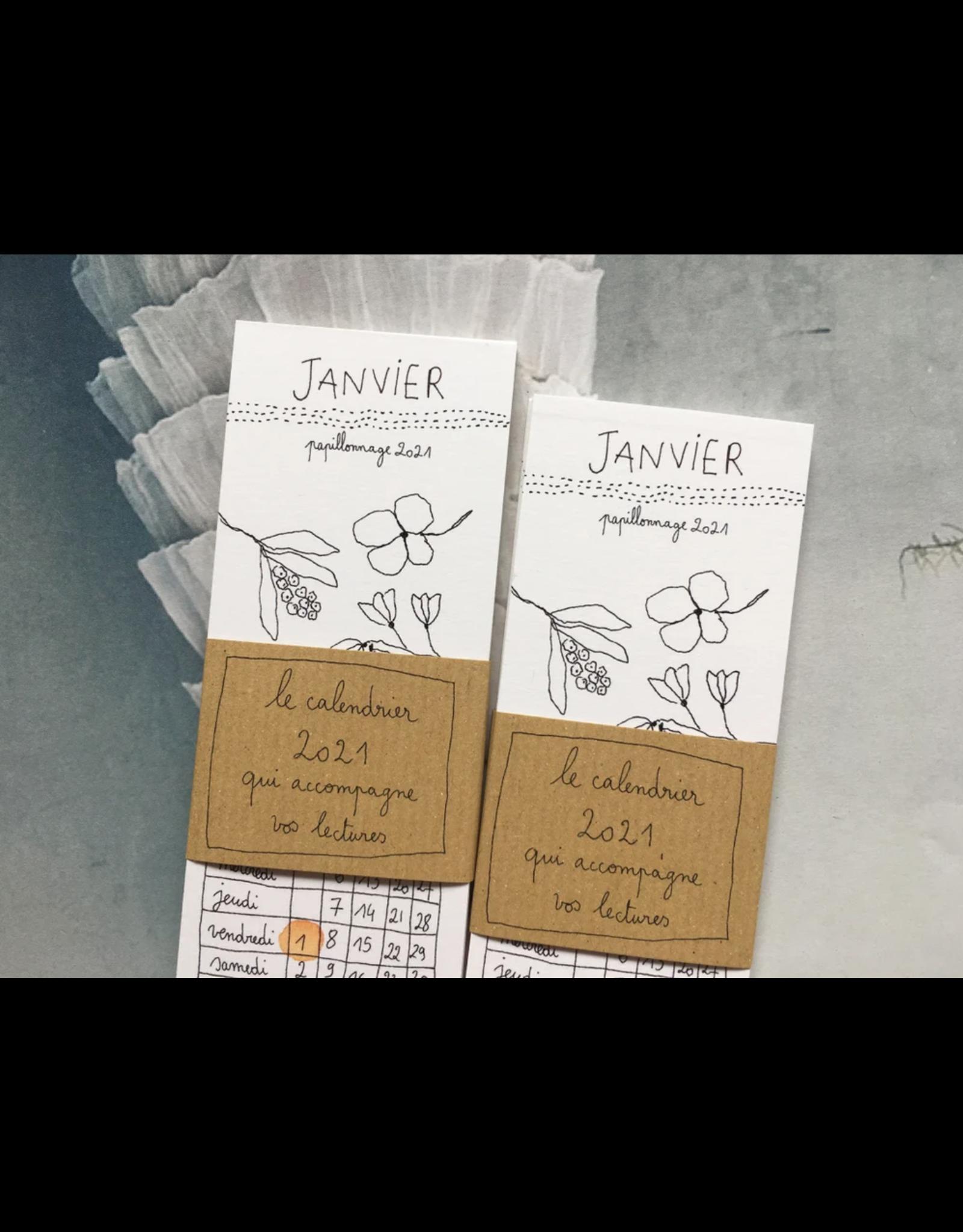 papillonage Kalender 2021 - Bladwijzers