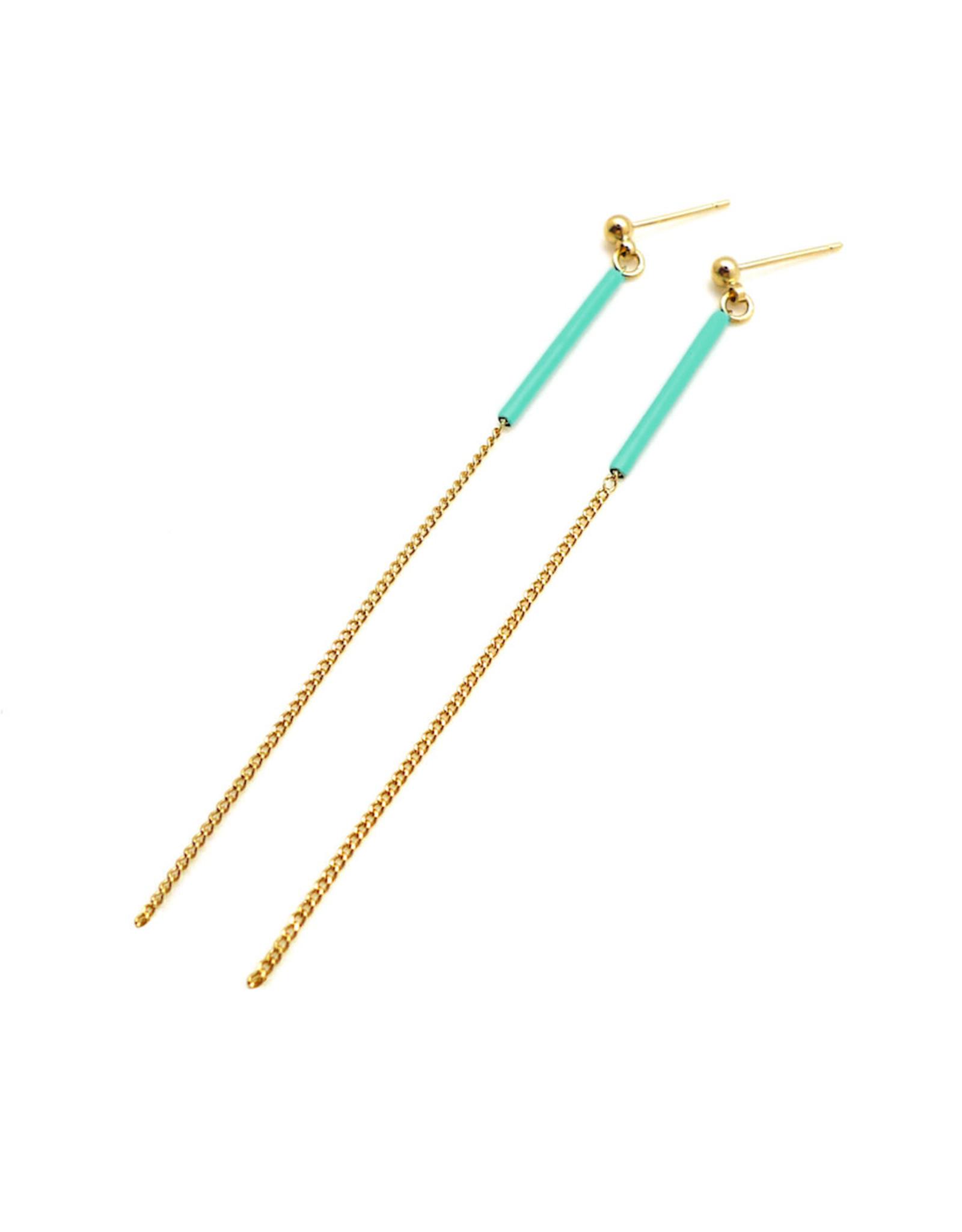 Nadja Carlotti Earrings Sparkle Ocean