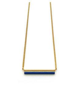 Nadja Carlotti Necklace Sparkle Prussian Blue