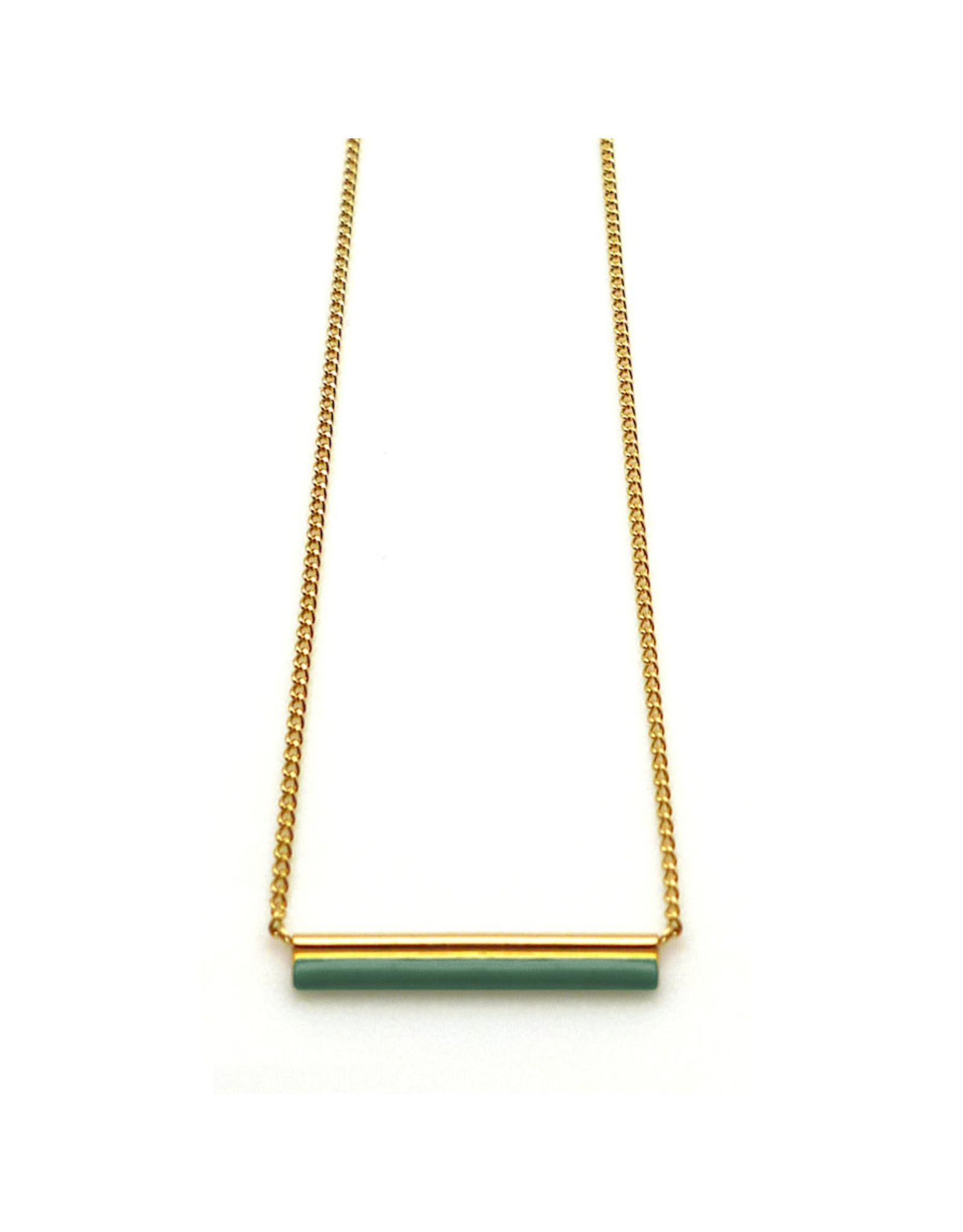 Nadja Carlotti Necklace Sparkle Green