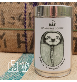 RAF Coffee Honduras coffee | 250g Bonen | Gebalanceerde, fruitige, zoete toets, chocolade | 100% Honduras Red Bourbon Bio