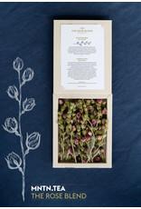 Lemon Poppy Tea Thee - Box The Rose Blend - Rozen thee en klassieke bergthee  - 20kopjes / 10 potten thee - 100% biologische in het wild groeiend kruiden- en bloementheeën uit Albanië en Marokko - 5min laten trekken - Periode van 12u tot 3x worden gebruikt