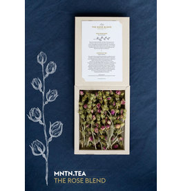 Lemon Poppy Tea Thee - Box The Rose Blend - Rozen thee en klassieke bergthee