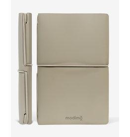 Modimo Bullet journal Beige - My plan - White - 10 x 15 cm - Flexible regenerated leather