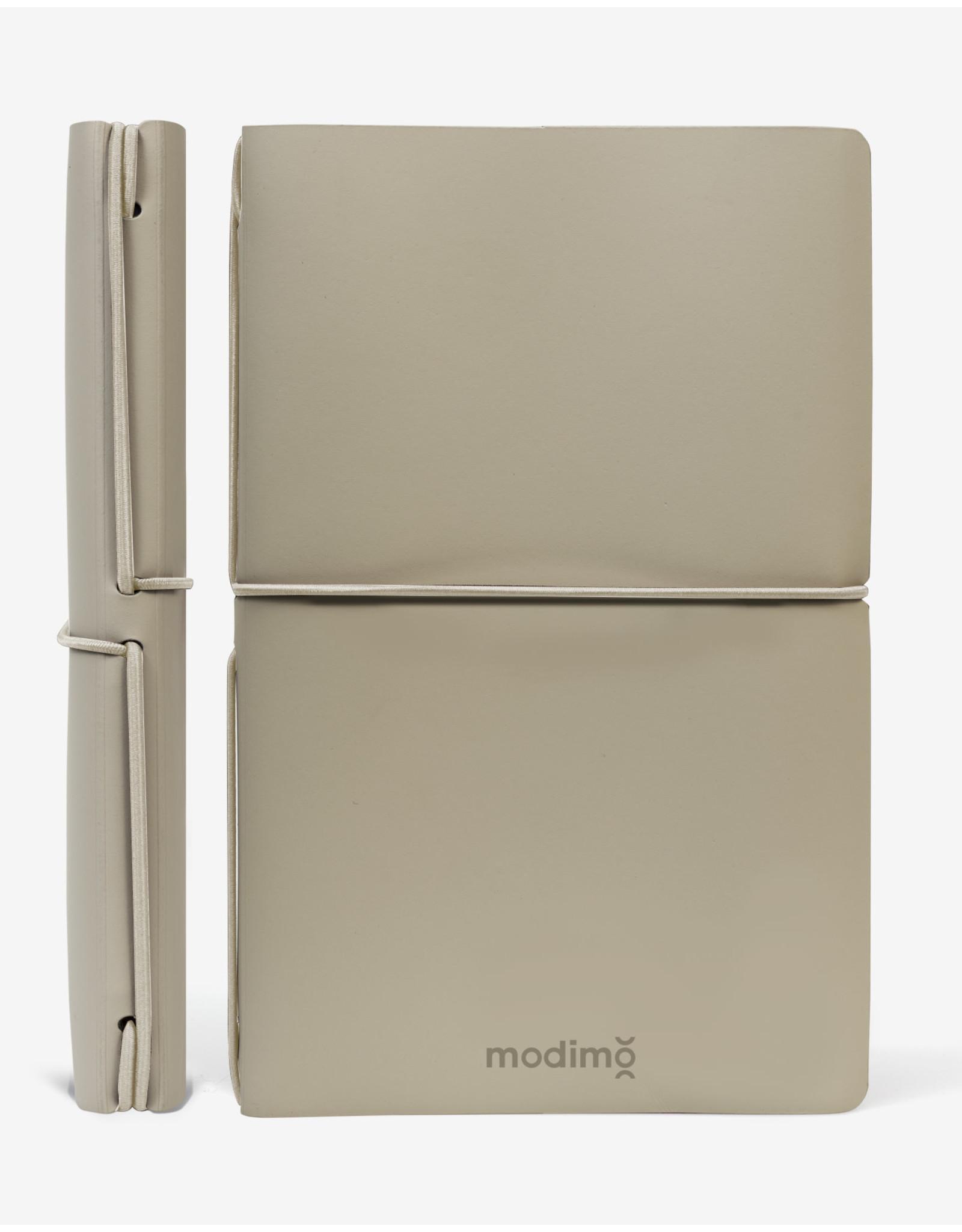 Modimo Bullet journal Beige - My plan - White - 13 x 21 cm - Flexible regenerated leather