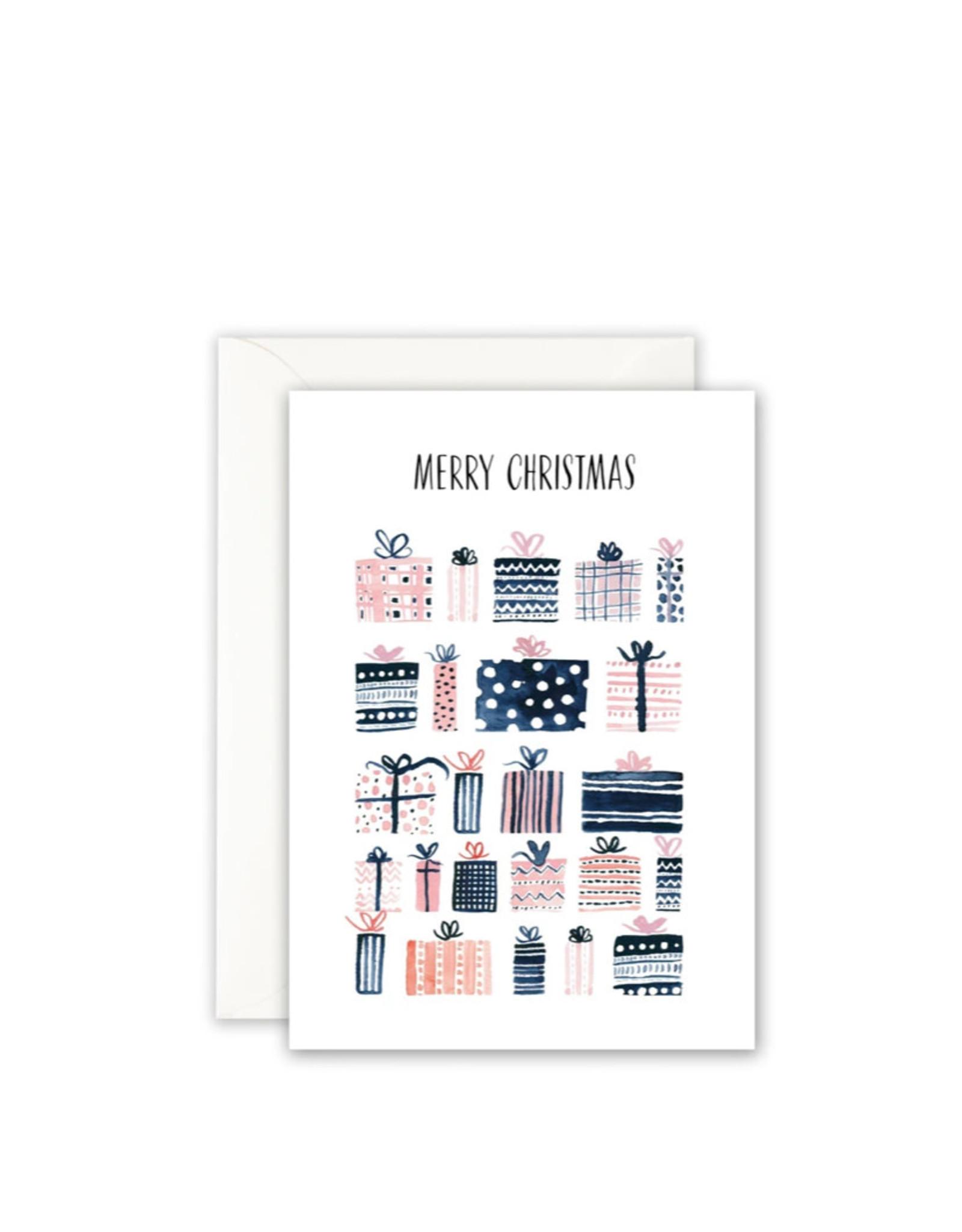 Leo La Douce Wenskaart - Kerst - Merry Christmas Gifts - Dubbele kaart + Envelope - 10 x 15cm