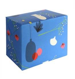 Pleased to meet Gift wrap - Flower pot  - 2 Sheets 50 x70cm