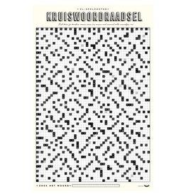 Stratier Spelposter XL - Zweeds kruiswoordraadsel