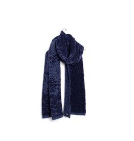 Wolvis Wolvis AW19 - Licht Blauw & Donkerblauw   - 220cm x 40 - 100% Merino Wool - 100% made in Belgium