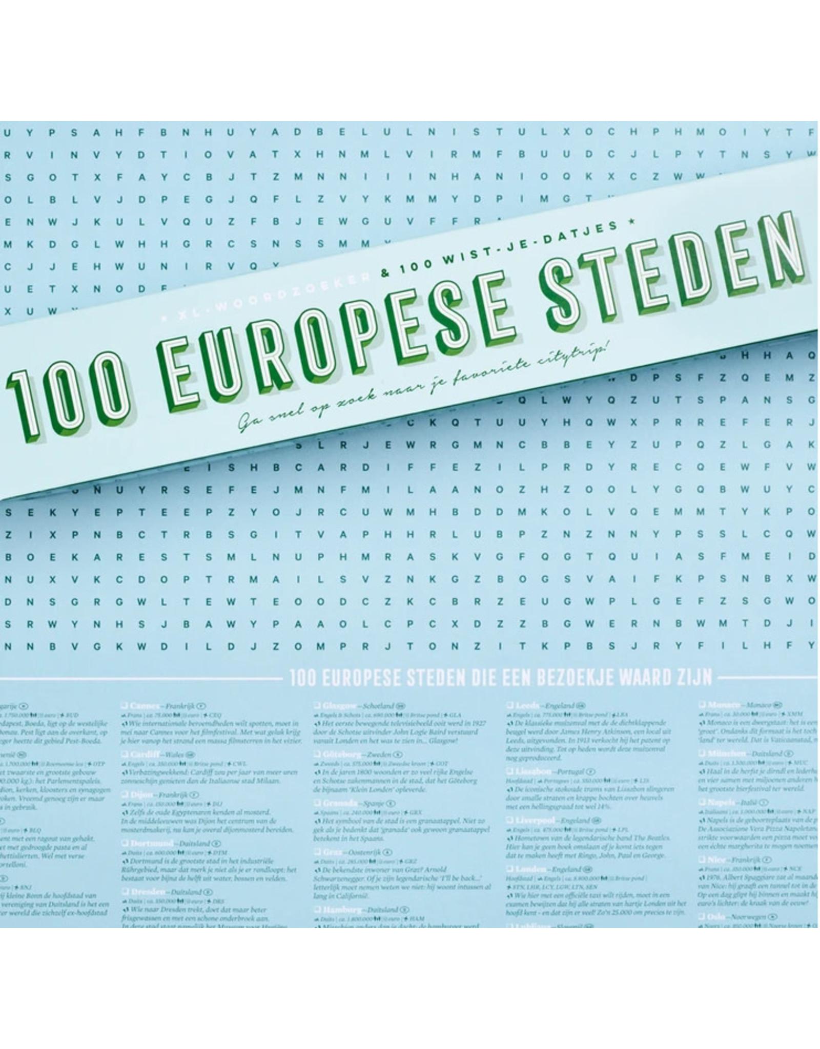 stratier Woordzoeker 100 Steden XL