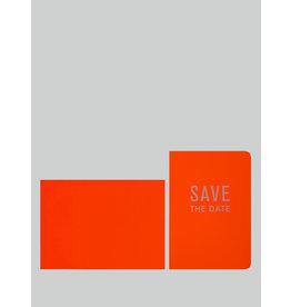 Le Typographe Wenskaart - Save the date - Dubbele kaart + Envelope - 10 x 15cm