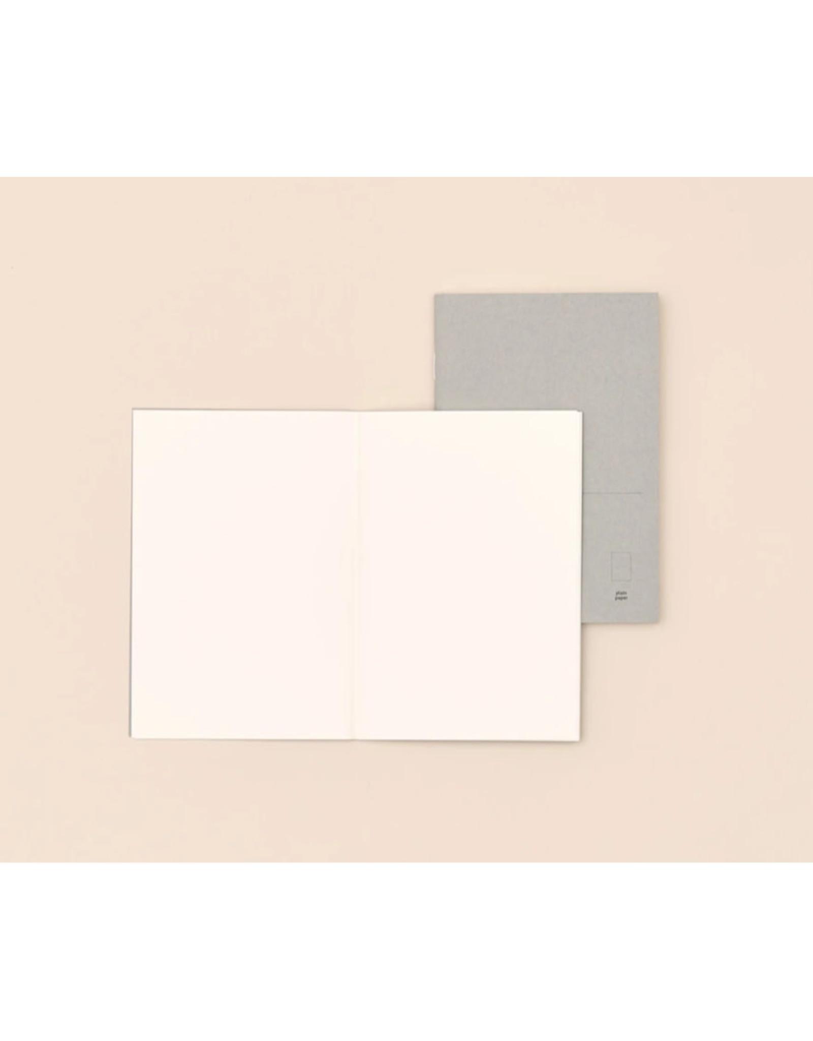 Paper republic Notebook Pocket - Plain -  10 x 14 - 48 pages