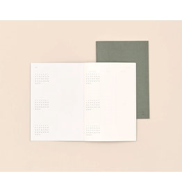 Paper republic Timeless planner XL - 14 x 20 - without time or month specifications  - 1 week per double page - 6months overview at beginning and end of the planner