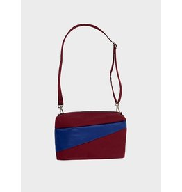 Susan Bijl Bum Bag M, Electric Blue & Bordeaux | 19 x 28 x 8,5