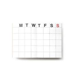 Jstory Medium weekly planner - 28sheets - 58weeks - 15 x 21